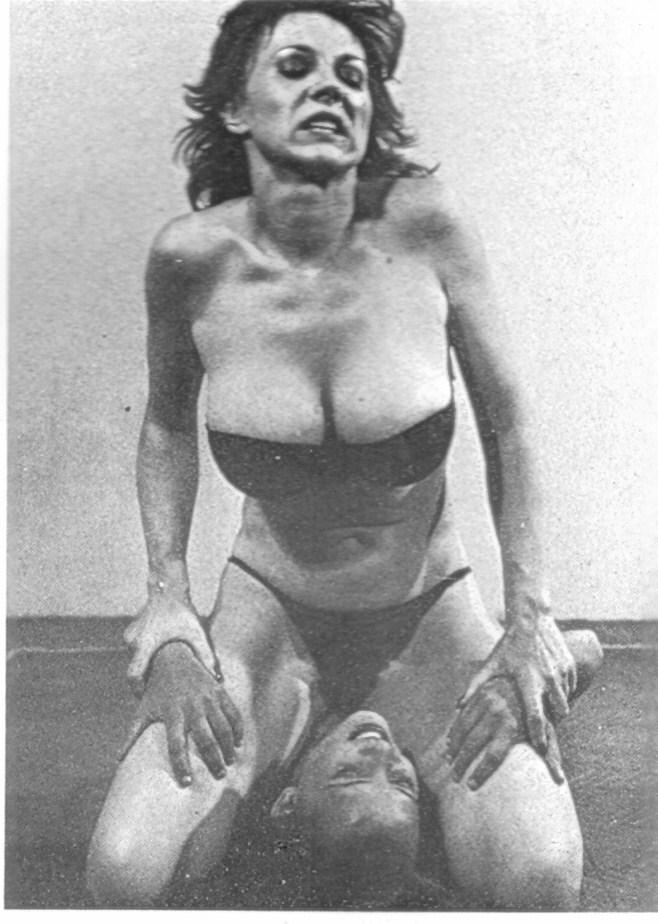nude wrestling german women