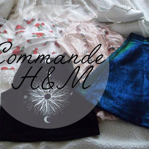 Ma commande H&M