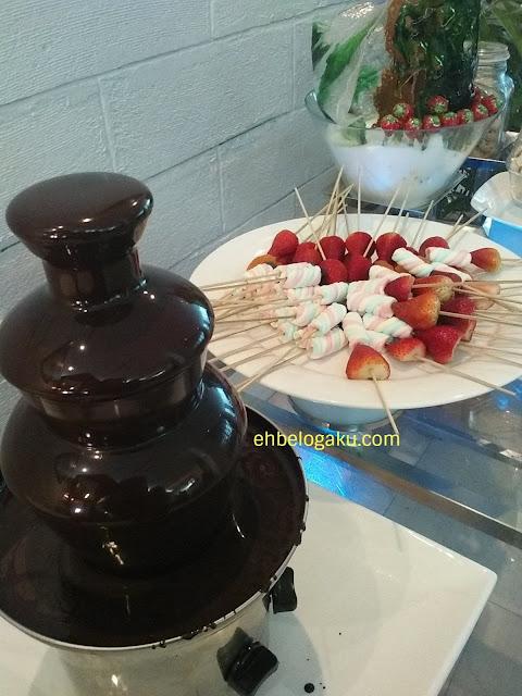 coklat,dessert di buffet ramadan