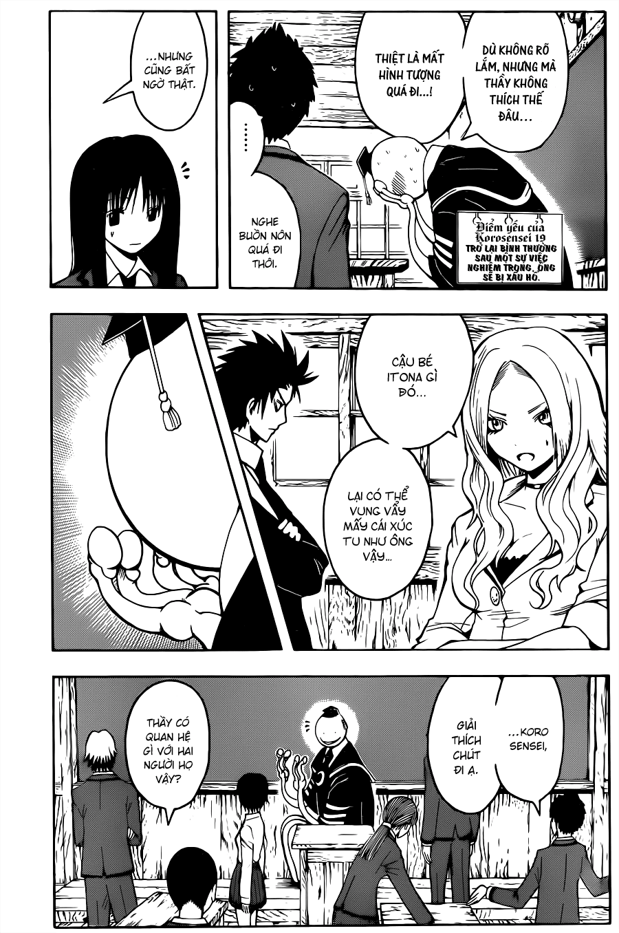 Ansatsu Kyoushitsu chap 32 trang 10