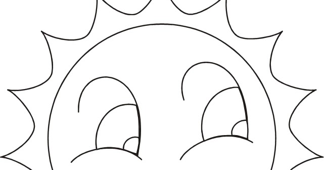 Dibujos De Sol Para Colorear E Imprimir: Dibujos Del Sol. Free Dibujo De Puesta De Sol Para