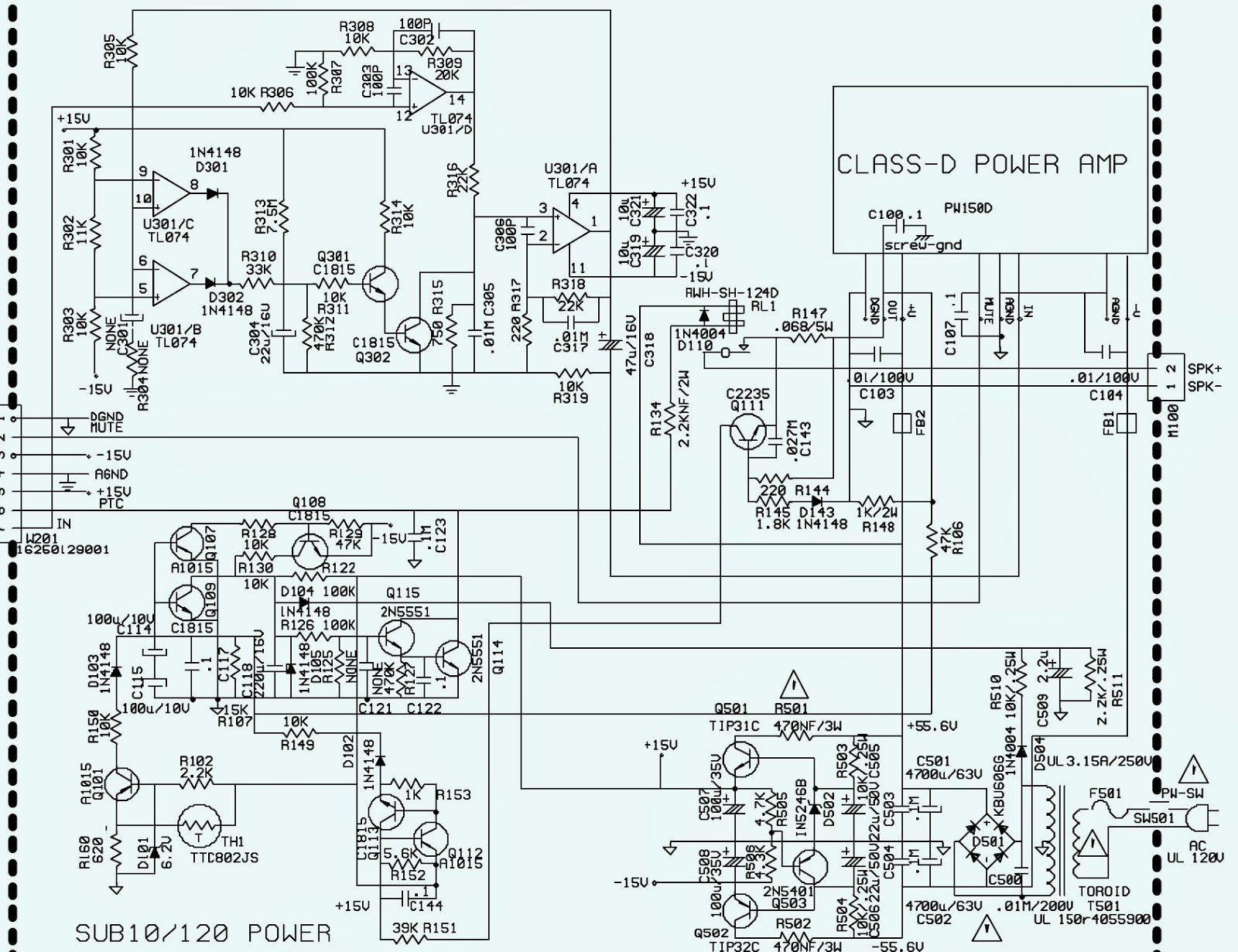 jbl powered subwoofer schematic diagram universal wiring diagram 600 ampsubwoofer schematic circuit diagram electro help wiring [ 1600 x 1231 Pixel ]