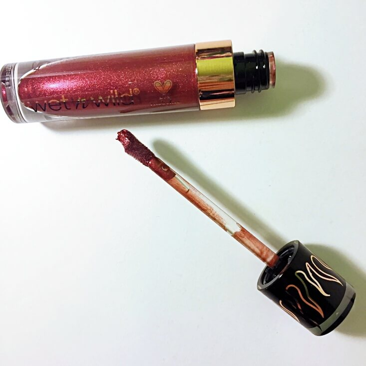 wet n wild megalast Liquid Catsuit Metallic Lipstick Redlings