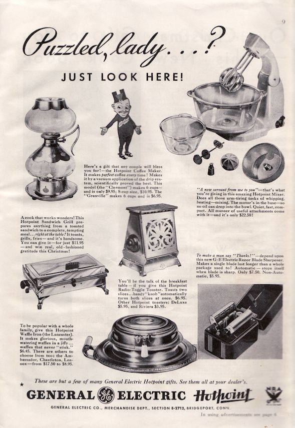 Urban Archeologist: All your 1933 Xmas wishes granted - Lady