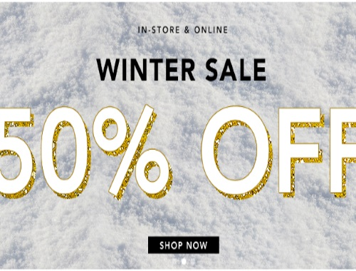 Forever 21 Winter Sale 50% Off + $20 Off Promo Code