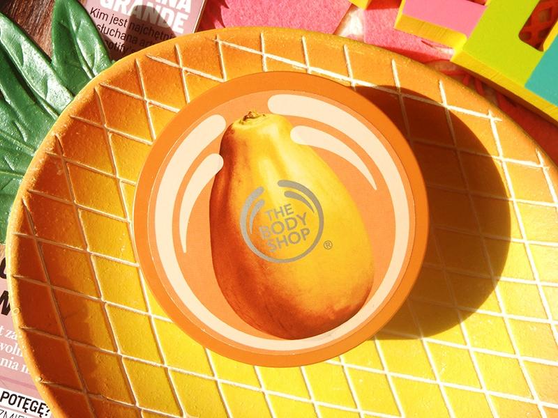 The Body Shop masło papaja, TBS papaja, TBS papaya butter