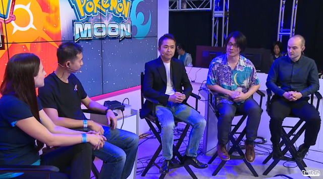 Nintendo Treehouse Live Game Freak E3 2016 Pokémon Sun Moon Masuda