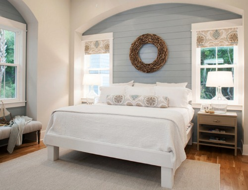 Shiplap Accent Wall Bedroom