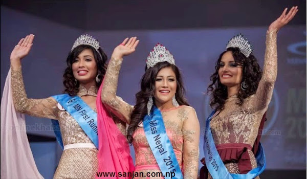 Miss Nepal 2015 Winner is Evana Manandhar