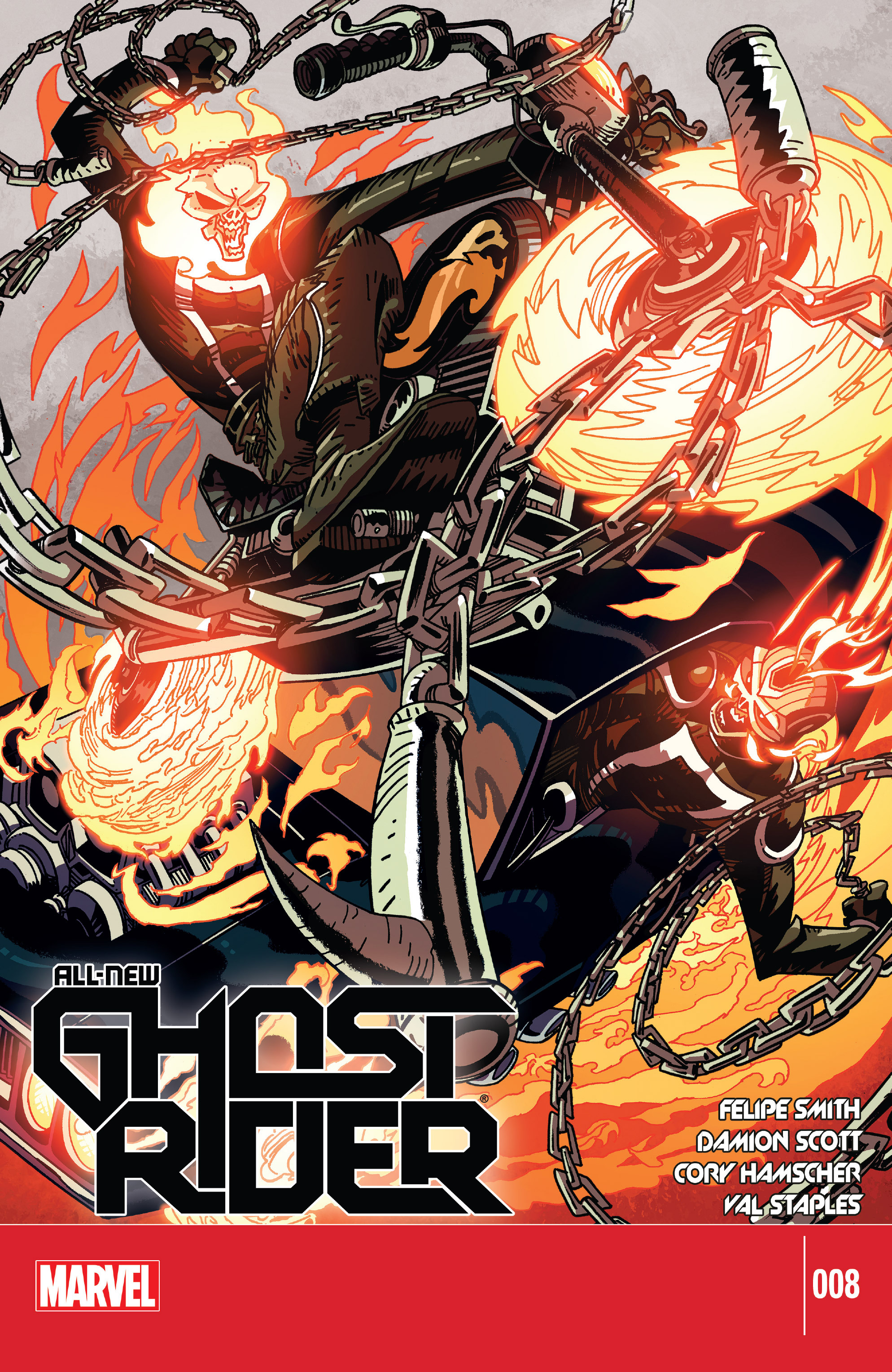 Read online All-New Ghost Rider comic -  Issue #8 - 1