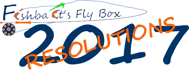 Fishbait's Fly Box 2017 Resolutions