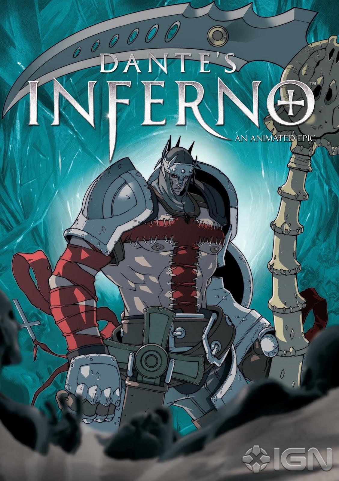 Dantes Inferno An Animated Epic Bd