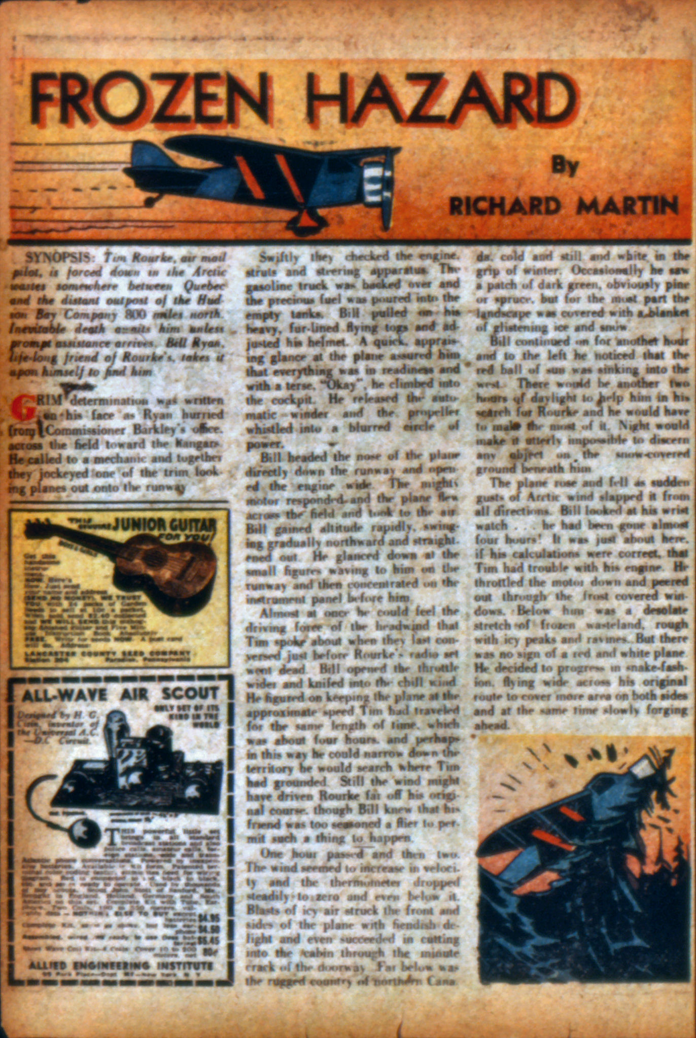 Read online Action Comics (1938) comic -  Issue #9 - 35