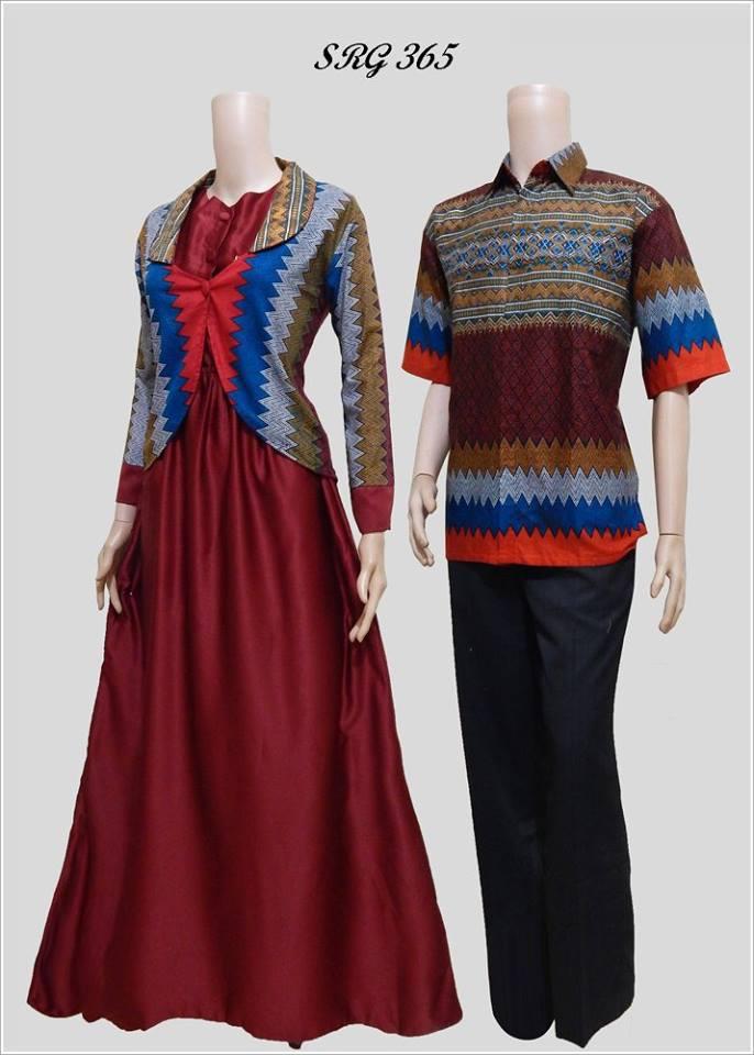 Baju Batik Gamis Model Bolero Srg 365