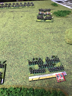 The Imperial Guard Cavalry begin moving forward