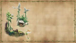 Para hacer invitaciones, tarjetas, marcos de fotos o etiquetas, para imprimir gratis de  Tinker Bell y las Hadas Versión Retro.