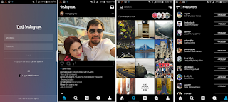 Instagram Black Mod For Android Terbaru 2018