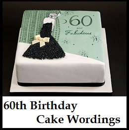 What To Write On 60th Birthday Cake