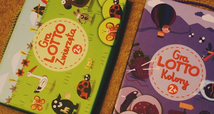 Gry Lotto Zwierzęta oraz Lotto Kolory, 2+
