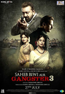 Saheb Biwi Aur Gangster 3 (2018) : Audio Hindi : Pre-DVDRip x264 720p 480p : Watch Online / Download Here