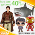 WEEKLY DEAL: BOGO 40% Off Select Funko Figures At Entertainment Earth
