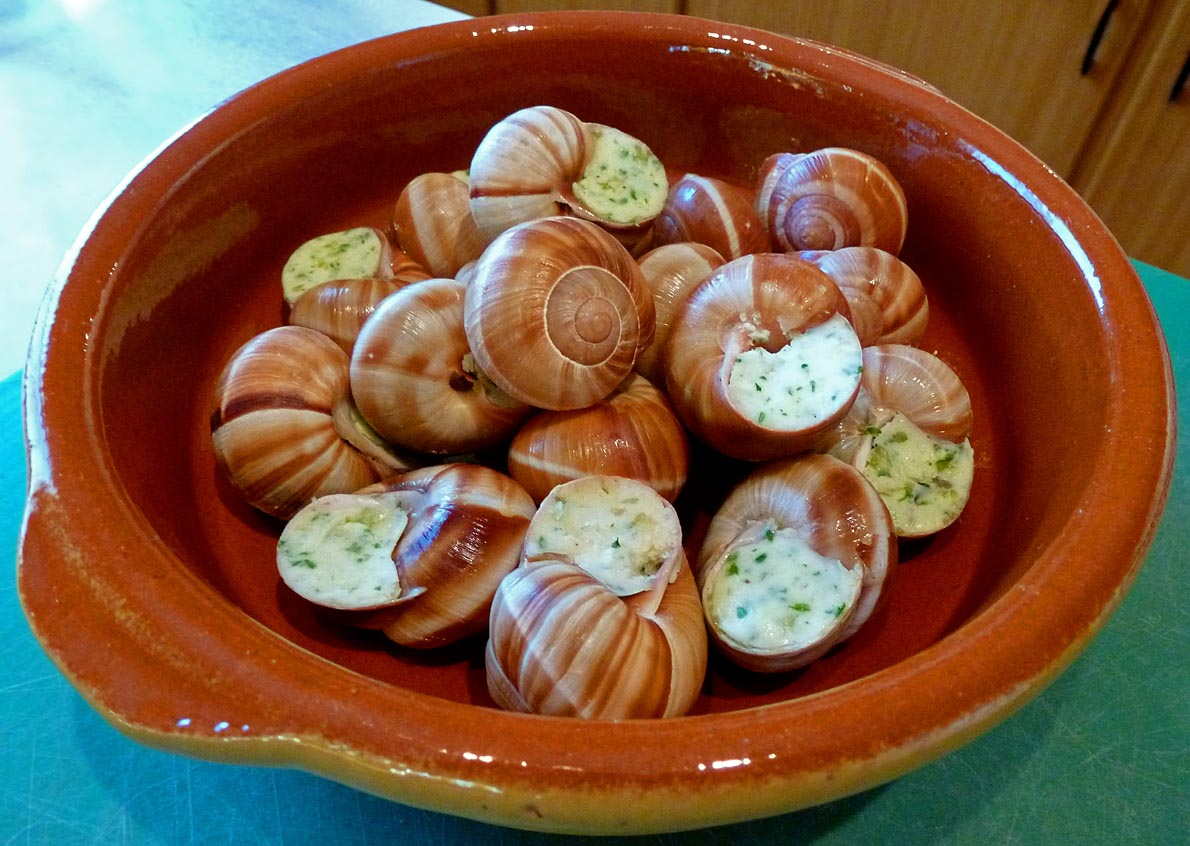 Living the life in Saint-Aignan: Escargots à la bourguignonne