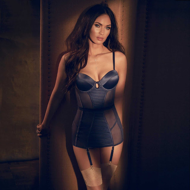 Megan Fox in Fredericks's of Hollywood Lingerie Photoshoot