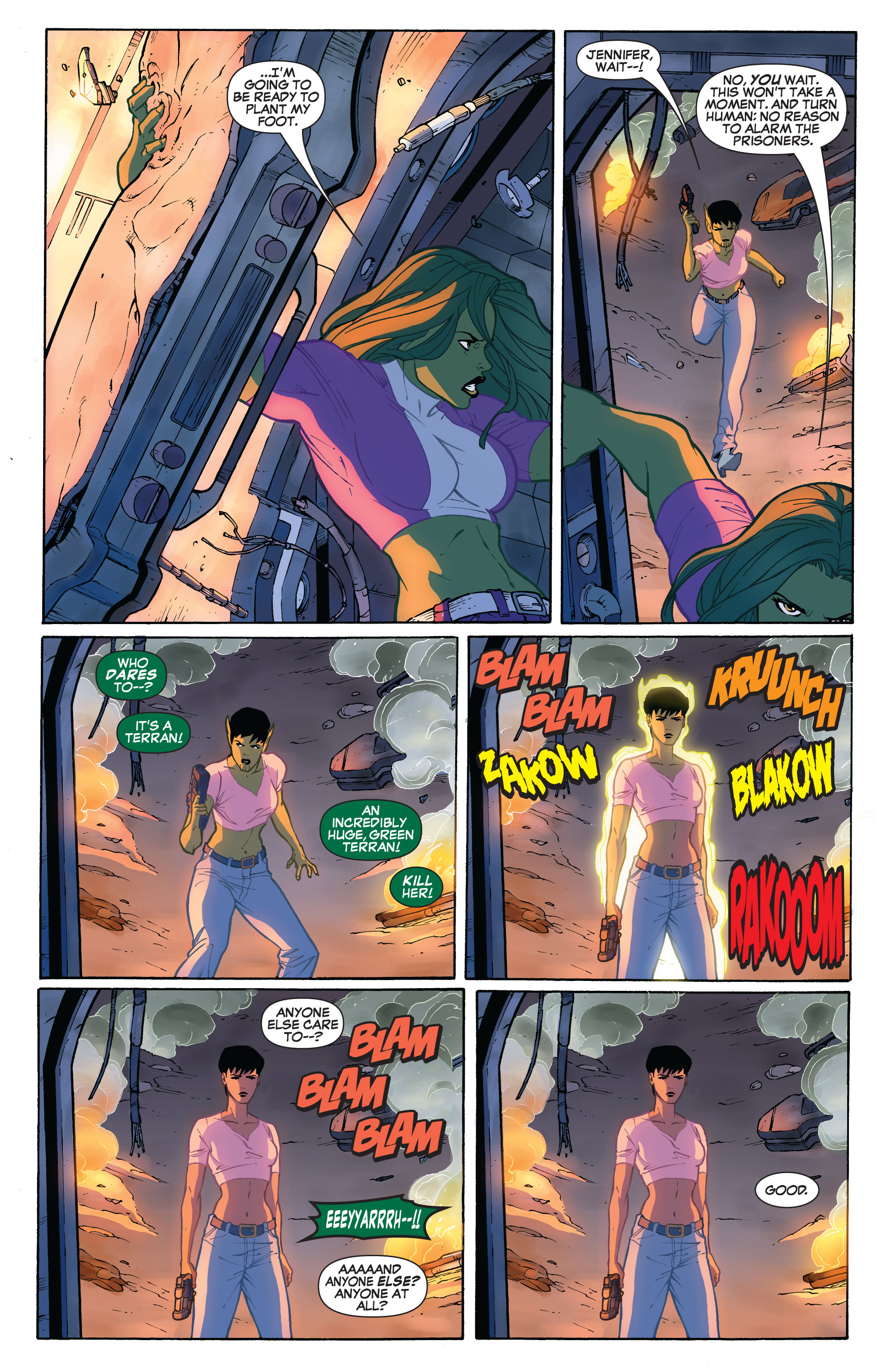 Read online She-Hulk (2005) comic -  Issue #32 - 11