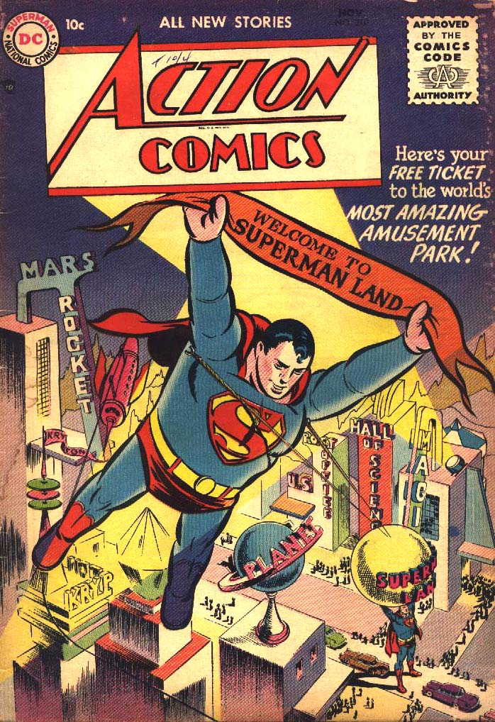 Read online Action Comics (1938) comic -  Issue #210 - 1