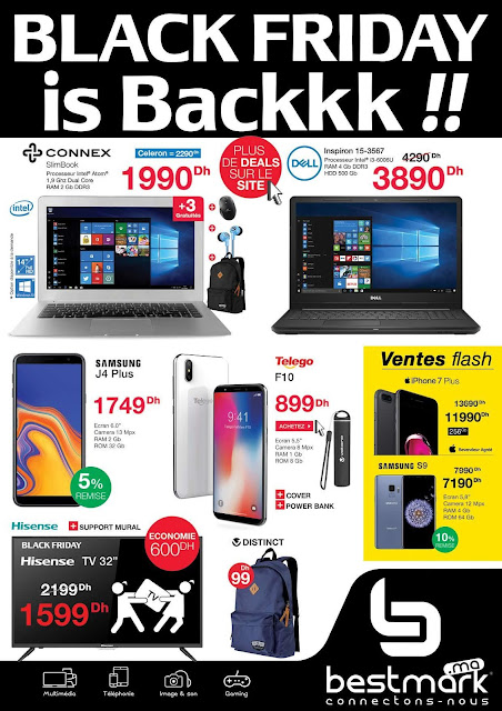 catalogue bestmark black friday novembre decembre 2018