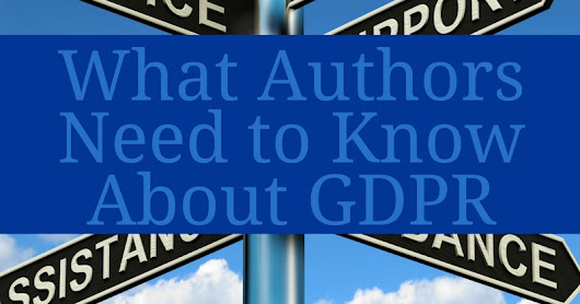 What Authors Need to Know About GDPR