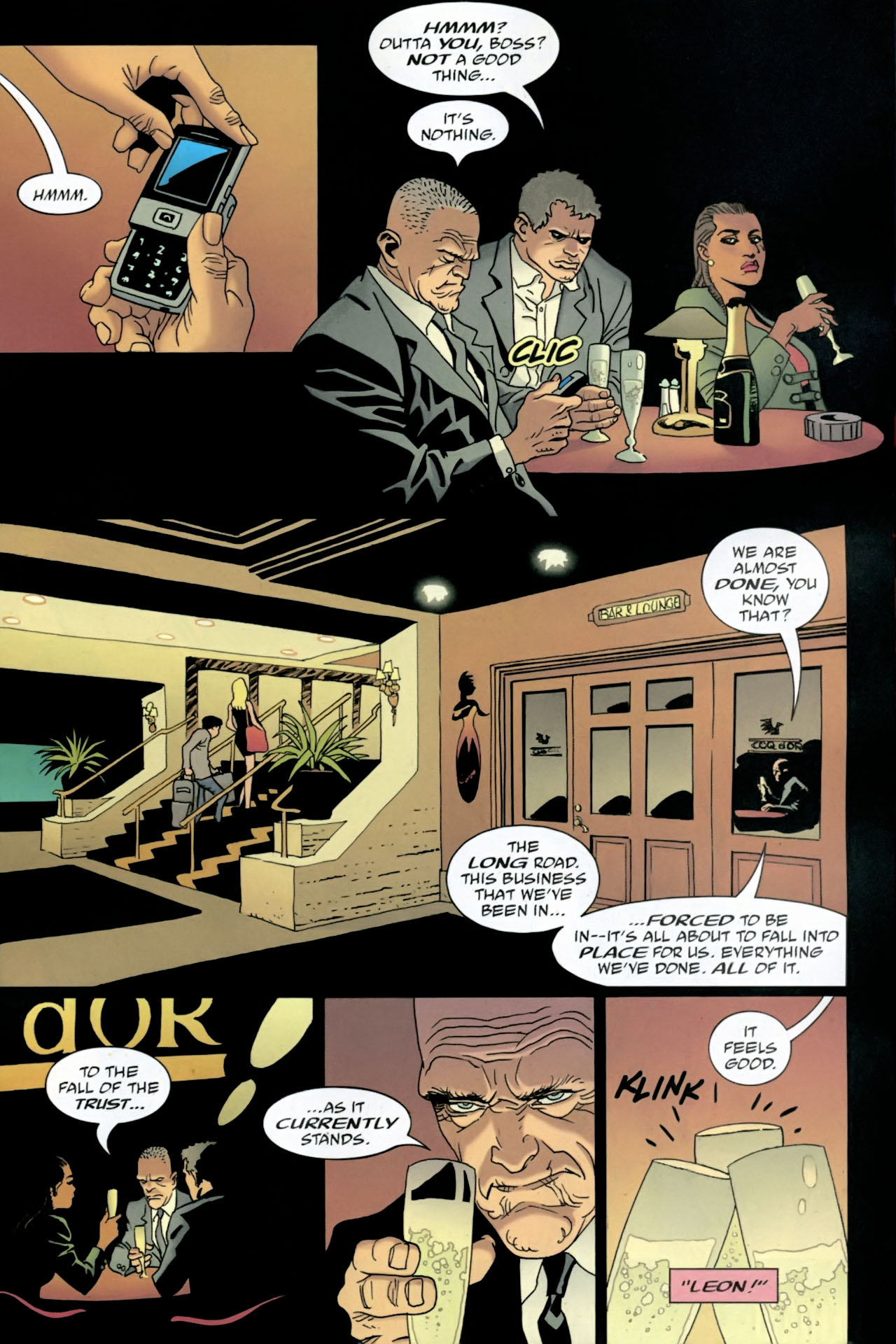 Read online 100 Bullets comic -  Issue #89 - 15