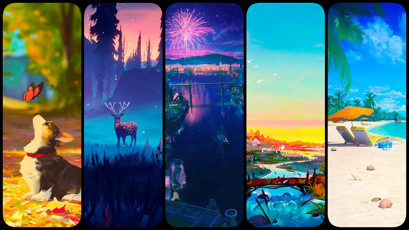 5 Beautiful new background wallpapers for phone