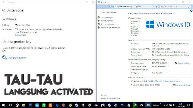 """Windows 10 Langsung """"Teraktivasi"""" ketika Login Akun Outlook! Kok Bisa?"""