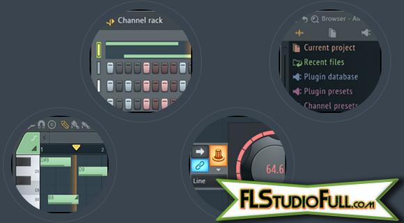 FL Studio 12 - Janelas Remodeladas