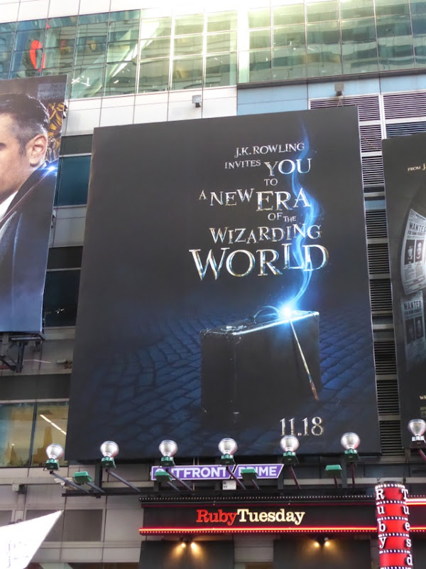 Fantastic Beasts movie billboard