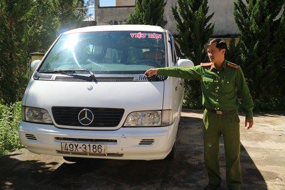 Xe vi phạm bị tạm giữ tại cơ quan công an