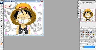 Cara Crop/Memotong Gambar Menjadi Bulat (Lingkaran) Di Photoshop cs 3
