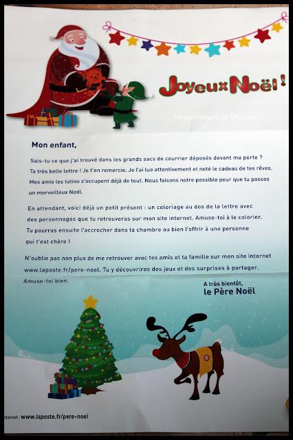 lettre pere noel 2015
