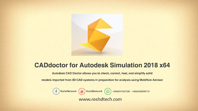 CADdoctor for Autodesk Simulation 2018 x64