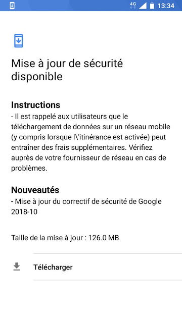 Nokia 5 October 2018 Android Security update