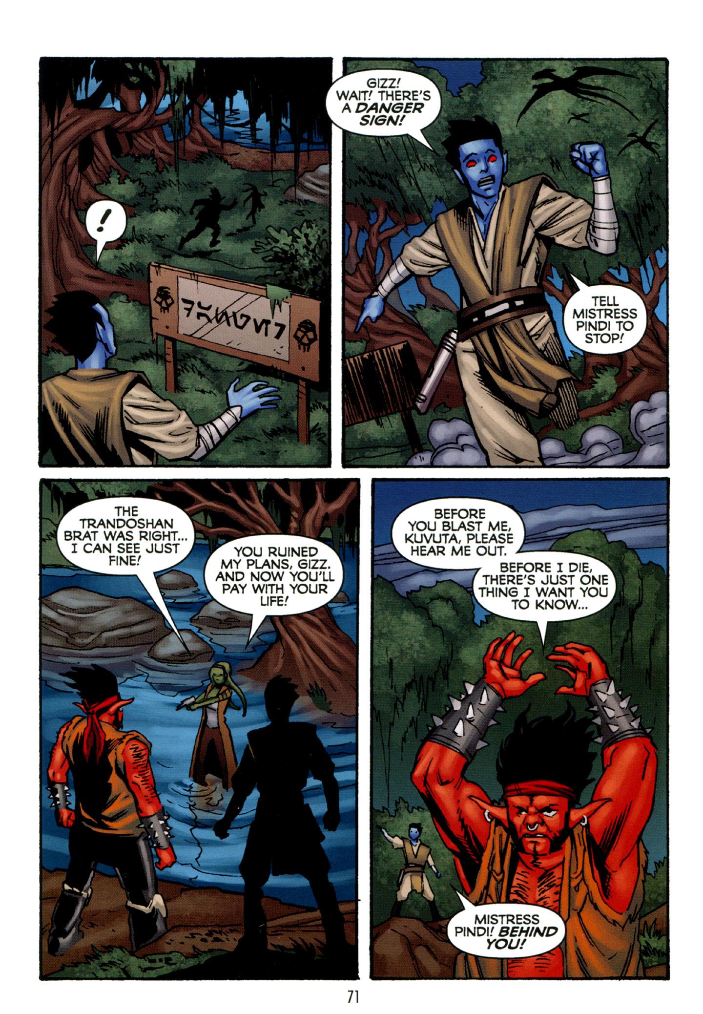 Read online Star Wars: The Clone Wars - Strange Allies comic -  Issue # Full - 72