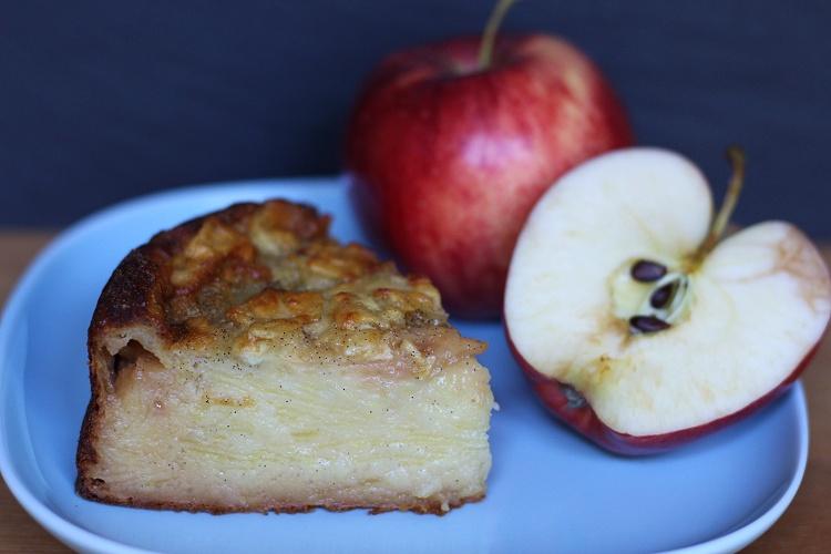 Apfel-Vanille-Kuchen 2