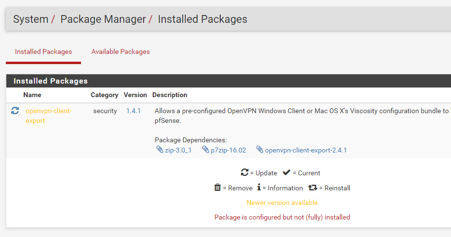The OptionKey Blog: Setting Up PFSENSE with OPENVPN using User