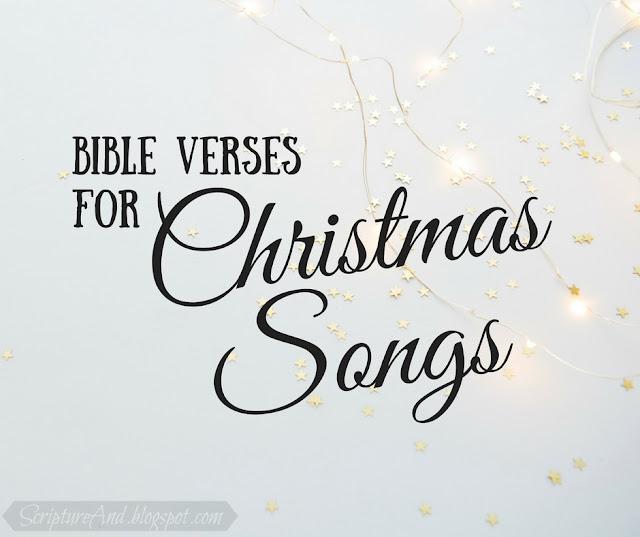 Bible Verses for Christmas Songs - an Index   scriptureand.blogspot.com