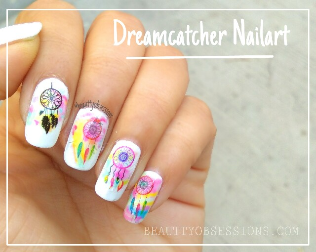 Dreamcatcher Nailart Tutorial