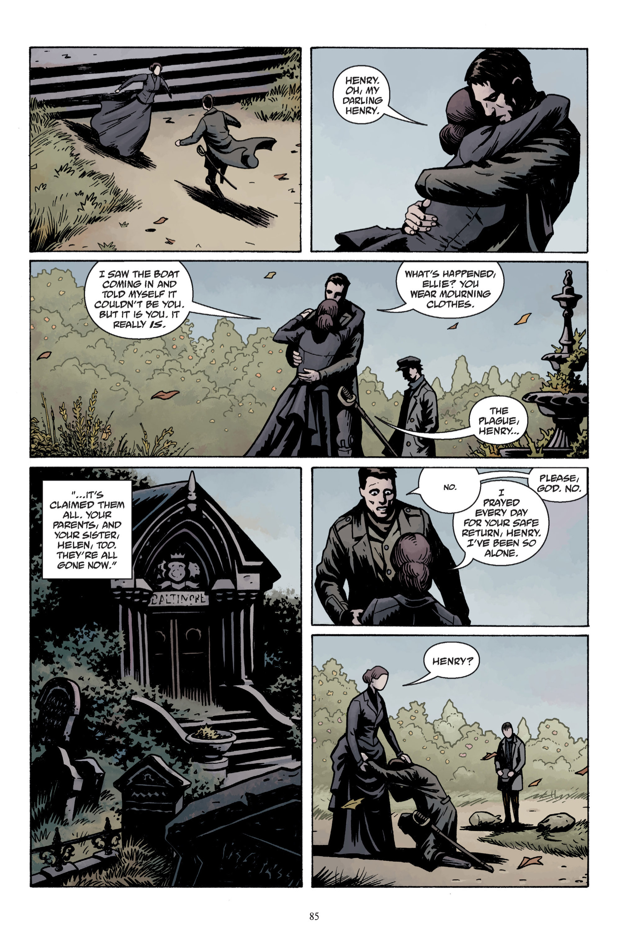 Read online Baltimore: The Plague Ships comic -  Issue # TPB - 87