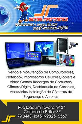 JR Games e Informática