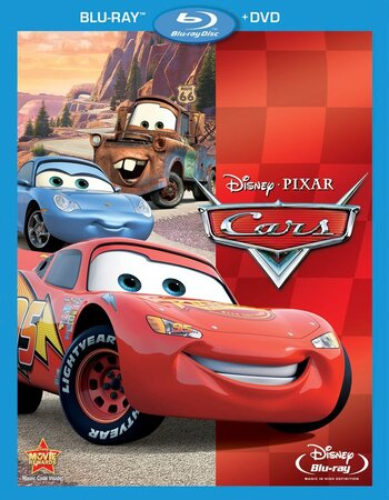 Cars (2006) Dual Audio Hindi 480p BluRay x264 350MB ESubs Movie Download