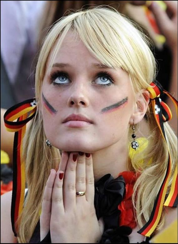German football worldcup girls
